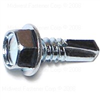 1/4 X 3/4     Hex Washer Self Drilling Screw Zinc 0