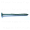 5/16 X 3-1/2  Star Drive Lag Screws Green 10lb 0