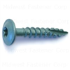 1/4 X 1-1/2    Star Drive Lag Screws Green 0
