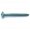 5/16 X 3        Star Drive Lag Screws Green 0