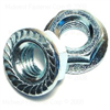 1/2-13   Serrated Flange Lock Nut Zinc 0