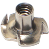 1/4 X 7/16      T-Nut Pronged Stainless Steel 1/pk 0