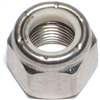 1/2-20      Lock Nut Nylon Insert Stainless Steel 1/PK 0