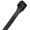 "CABLE TIES-11""   8PK BLK NYLON 45-312UVB"