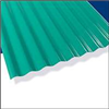 CORRUGATED ROOFING*12' PALRUF GREEN PVC
