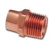 "COPPER FITTING-.50""x.75"" MALE ADPT CxMIP"