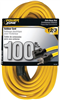 Extension Cord 12/3 Yellow 100' Powerzone Or500835 0