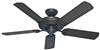 "Ceiling Fan Hunter 52"" Outdoor Bronze 5blade 53061 0"