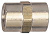 "Air Fitting 1/4"" Line Coupling  Brs FNPT 21-515 0"