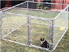 CHAIN LINK DOG KENNEL 10'x6'x6'