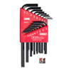 HEX KEY SET-10018 SAE 18pc SHORT ARM