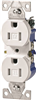 Receptacle Duplex White 15Amp Tamper Resistant TR270W-BOX 0