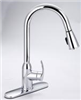 Faucet Banner Kitchen 1 Handle Pull Down Spray Chrome TP872PD 0