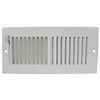 "REGISTER-SIDEWALL 10""x4"" WHITE SW02-10x4"