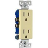 RECEPTACLE-DECORA IVR 1107V-BOX 15a/125v