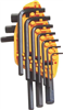 HEX KEY SET-METRIC 10PC MINTCRAFT