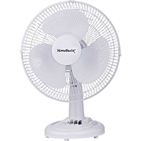 "FAN-OSCILLATING 12"" 3SPD TABLE FAN"