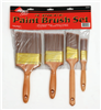 PAINT BRUSH SET-A2204 4PC POLYESTER