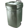TRASH CAN-45gal PLAS WHEELED RM134501