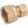 "BRASS COMPR FEMALE-3/8""x1/2"" LFA-118"