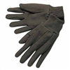 GLOVES-BROWN JERSEY REV 14003 LADIES'