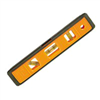 "LEVEL- 9""PLST TORPEDO 7500-ORANGE/LIME"