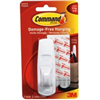 COMMAND STRIPS- HOOK W/ADHESIVE LRG 1PC