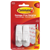 COMMAND STRIPS- HOOK W/ADHESIVE MED 2PK