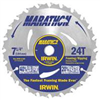 "SAW BLADE-CIRC 24030  7-1/4"" 24T CARBID"