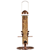 BIRD FEEDER-385-2 1.8lb 1TUBE 4PORT COPP