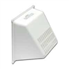 "DRYER VENT HOOD-GUARD 4"" WHITE  1491W"