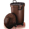 TRASH CAN-32gal PLAS WHEELED RM133902BRN