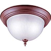 "LIGHT FIXTURE-CEIL SIENNA 13""RD FROSTED"