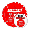 "SAW BLADE*S*CIRC DO724PX 2PK 7.25"" 24T"