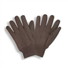 GLOVES-BROWN JERSEY REV 14001 MEN'S
