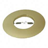 "RECESS LIGHT-8""POLISH BRASS OPEN TRIM"