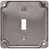 "SQUARE BOX COVER-800C 4""SQ SINGLE SWITCH"