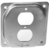"SQUARE BOX COVER-902C 4""SQ DUPLEX RECPT"