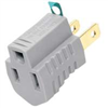 CORD END GROUNDING ADAPTER 419GY 3 TO 2