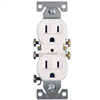RECEPTACLE-DUPLEX WHITE 270W