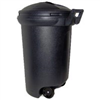 TRASH CAN 32gal PLAS TI00019 W/SNAP LID