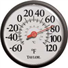 "THERMOMETER-OUTDOOR 12"" 6700"
