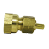 "BRASS COMPR FEMALE-1/4""x1/4"" LFA-16"
