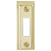 DOOR BELL BUTTON GOLD LIT CHIME DH1505L