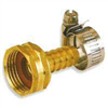 "HOSE END-BRASS FEMALE 1/2""GB934F W/CLAMP"