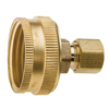 "BRASS COMPR ADAPTER-3/4""FHZx1/4"" LFA-696"