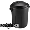 TRASH CAN-20gal PLAS 289200BLA W/LOCK-LI