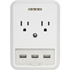 PHONE WIRELESS-OUTLET/USB WALL CHARGER