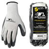GLOVES*S* 5PR NITRILE COATED KNIT 563LA