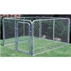 CHAIN LINK DOG KENNEL 10'x10'x6'